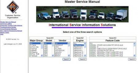 Электронная база по ремонту грузовиков International Truck ISIS (International Service Information Solution)