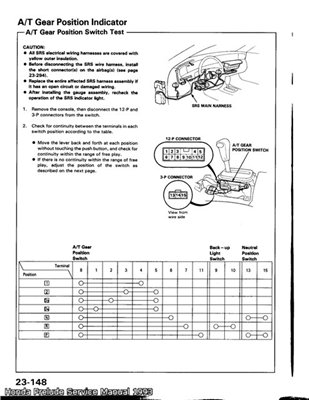 Honda Prelude 1993. service manual.