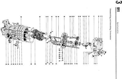 Porsche  911 (1972-83). Оригинальная инструкция по ремонту.