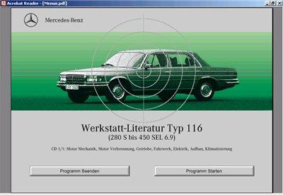 Мерседес W116. Мультимедийное руководство.