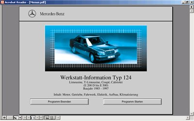 Mercedes W124. ремонтная документация-1985-1997.
