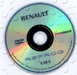 База прошивок Renault Reprog версия 97.0 (2011)