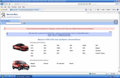 Каталог Peugeot Service Documentation Backup 10.2010 + SEDRE