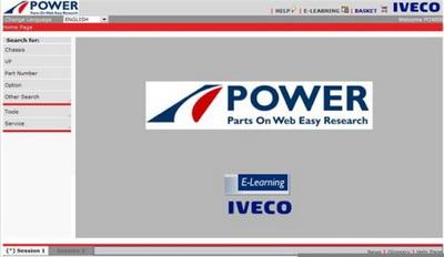 Каталог запасных частей Iveco Power версия 01.2010
