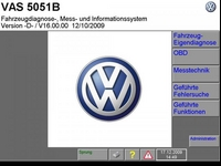 ��������� ��� ������ ���������� ����������� Volkswagen Flash DVD v.057