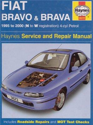 Fiat Bravo Brava 1995-2000. Repair Manual Haynes.