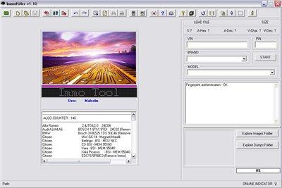 ImmoKiller v1.10. Программа для работы с иммобилайзерами.