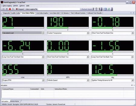 Программы для диагностики автомобилей AutoEnginuity ScanTool (версия 6.0.2)