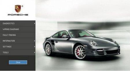 Porsche PIWIS 2011 версия 32. Программа диагностики автомобилей Porsche