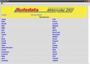 AutoData Motocycles 2003