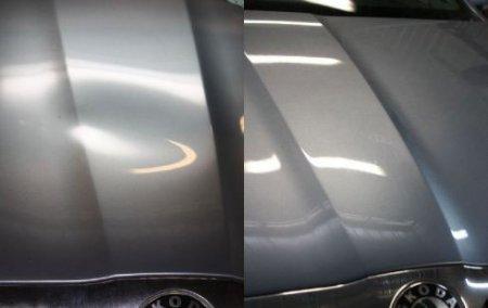 Исправление вмятин, без покраски автомобиля