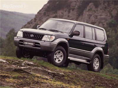 Toyota Land cruiser 2000. Электросхемы.