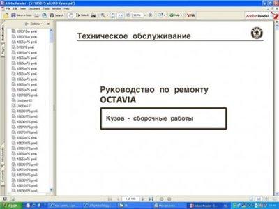 Skoda: Fabia,Octavia,OctaviaII,Superb: ����������� ������������ [2007, PDF]