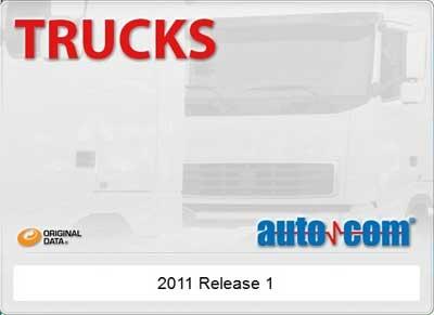 Программа для диагностики грузовых автомобилей AUTOCOM Trucks CDP (2011 год)