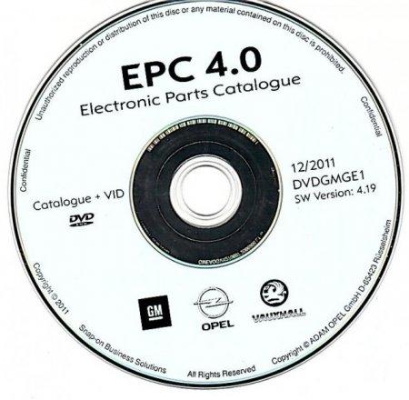Opel EPC 4 (10.2012) [Multi + RUS]