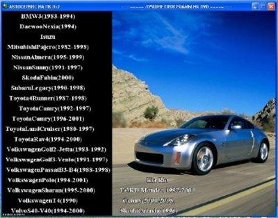 Автосервис на ПК (зарубежные автомобили)