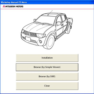 Mitsubishi l200 Workshop Manual (2009-10). Дилерское руководство.