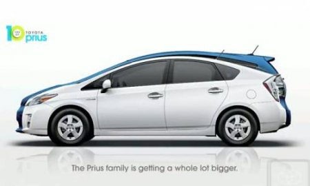 Гибридный минивэн от Toyota: Prius+