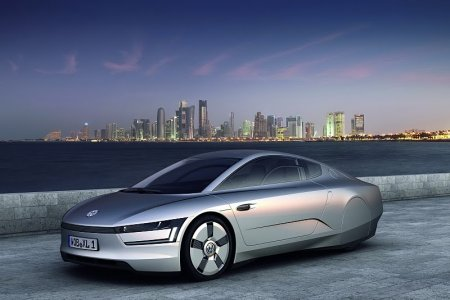 Volkswagen XL1 Diesel-Electric Hybrid: экономичный концепт