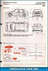 [Lancia Automobiles S.p.A. Lancia Delta Integrale (4WD, HF 8v, HF 16v, EVOLUZIONE)] (1979-1994) Иллюстрированное руководство по ремонту