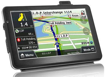 Функциональные особенности GPS навигаторов
