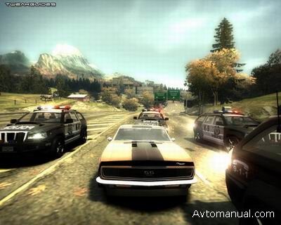 Скачать Need For Speed Most Wanted Black Edition