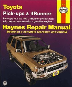 Руководство по ремонту Toyota Pick-ups & 4Runner Haynes Manual