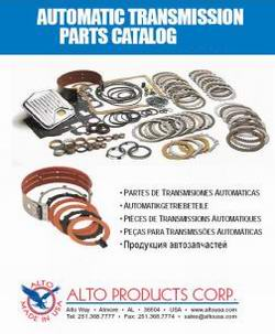 Automotive Catalog ALTO 2010 - каталог фрикционов для АКПП