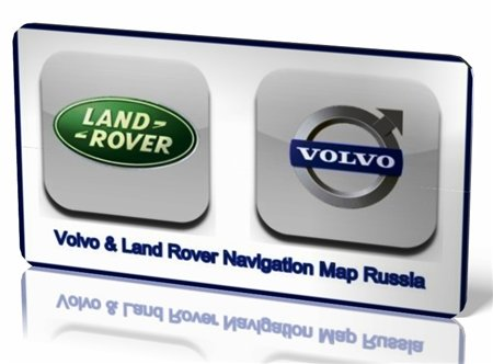 Volvo & Land Rover Navigation [Map Russia] (2010)