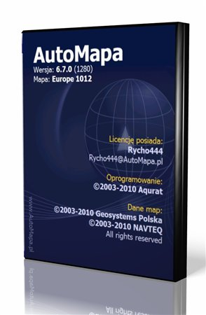 AutoMapa ver.6.7.0 Beta [Europe + Russia] (2010/MULTI)
