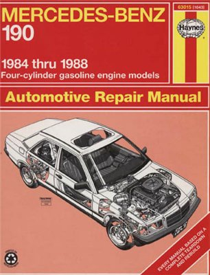 Mercedes-Benz 190. Repair Manual Haynes 1984-88.