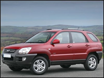 KIA Sportage. Body shop manual. 2004-2008.