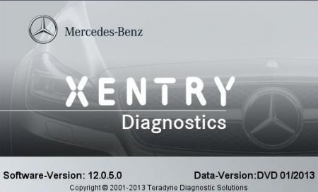 Программа диагностики Mercedes DAS / XENTRY версия 1.2013