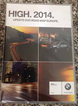 Навигация NAVTEQ BMW Road Map Europe HIGH 2014 RUS SL + Speedcam