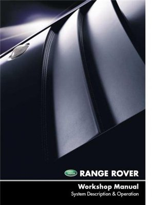Range Rover 2002. Workshop Manual.